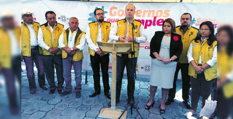 Rueda de prensa. Rodrigo Gayosso Cepeda aseguró que continuará trabajando a favor de los morelenses