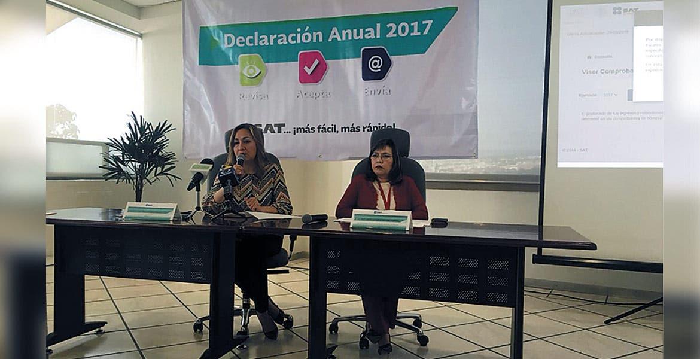Facilita Sat Declaración A Personas Físicas Diario De Morelos