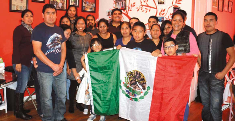 Visita. La titular de Sedeso, Blanca Almazo Rogel, se encuentra en Estados Unidos para reunirse con diferentes asociaciones de migrantes.