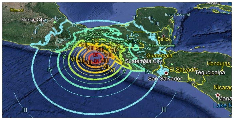 Se registra sismo de 5.1 en Tapachula, Chipas