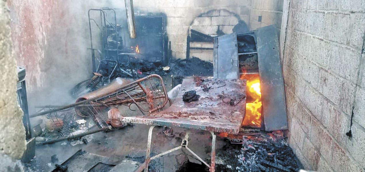 Arde casa en Cuautla