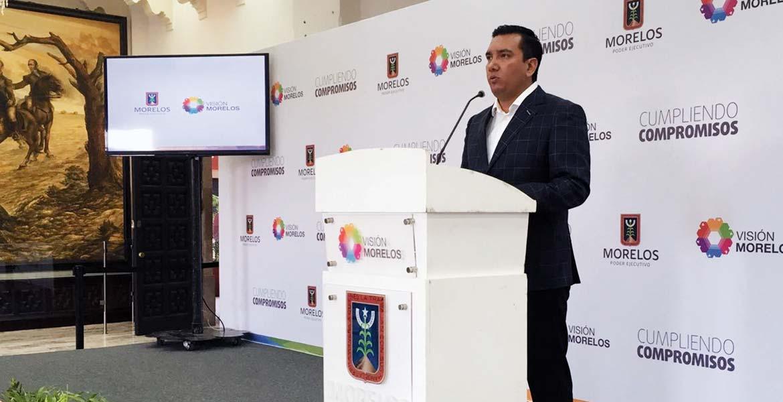 Rueda de prensa. Sergio Beltrán Toto aseguró que las obras que se realizan en el primer cuadro están sustentadas y no son producto de un capricho.
