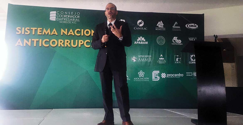 Conferencia. Max Kaiser, director del Instituto Mexicano para la Competitividad (IMCO), ofreció una charla sobre el sistema nacional anticorrupción.