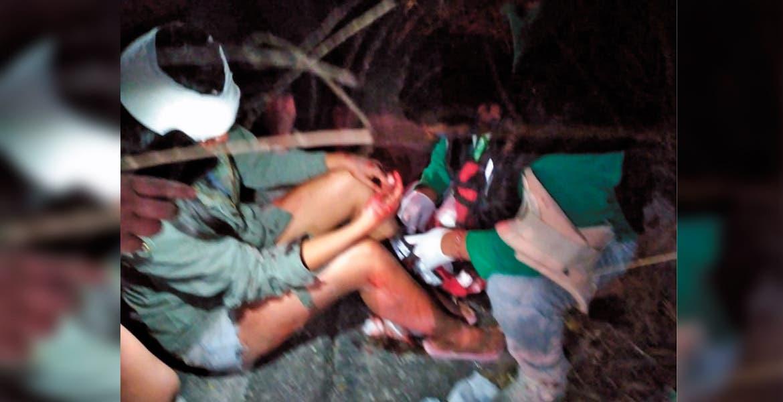 Cae de su moto y acaba en hospital en Cuautla
