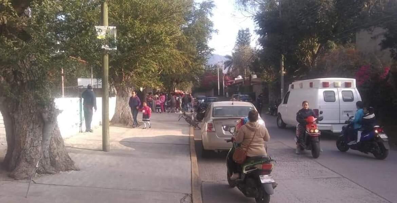 Suspenden labores en escuelas de Yautepec por exposición a químicos