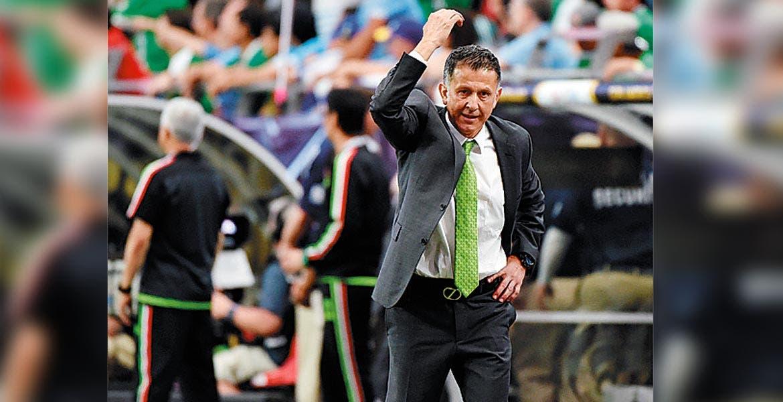 Juan Carlos Osorio. El técnico de México buscará un nuevo parado.