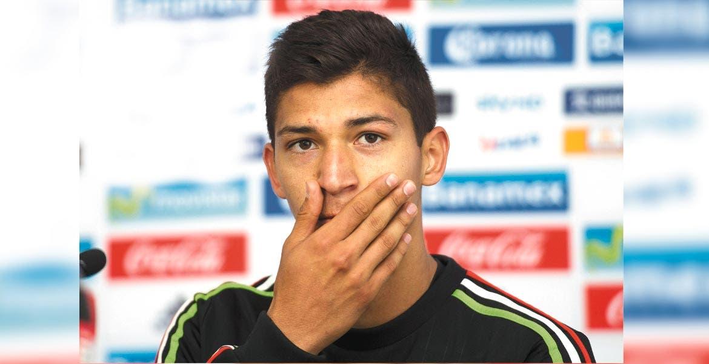 Ángel Saldívar. El delantero mexicano acude a su primer llamado a la Selección.