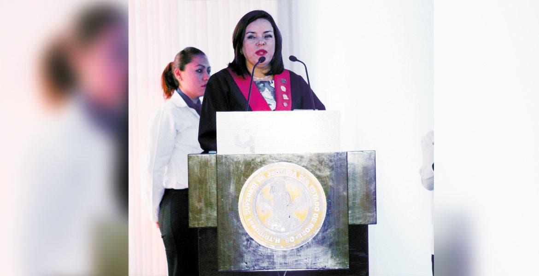 Nadia Luz Lara Chávez apostó por construir una justicia más sólida y con transparencia, encaminada hacia la modernidad.