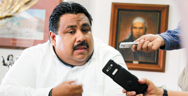 Raúl tadeo, alcalde