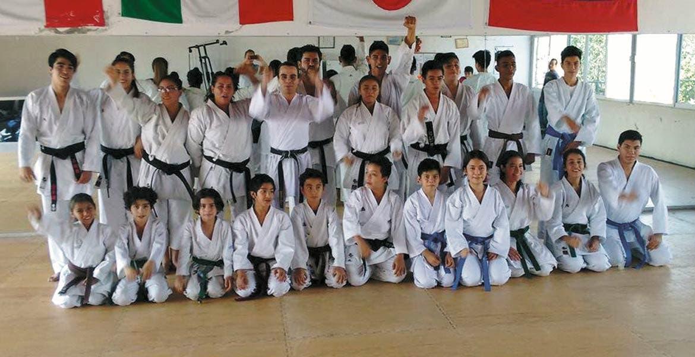 Selección de Morelos. El representativo de nuestra entidad en el Karate Do.