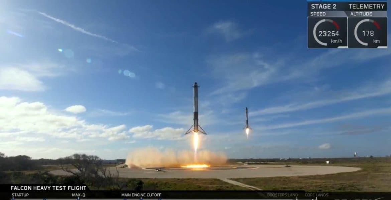 SpaceX listo para lanzar el cohete más poderoso del mundo