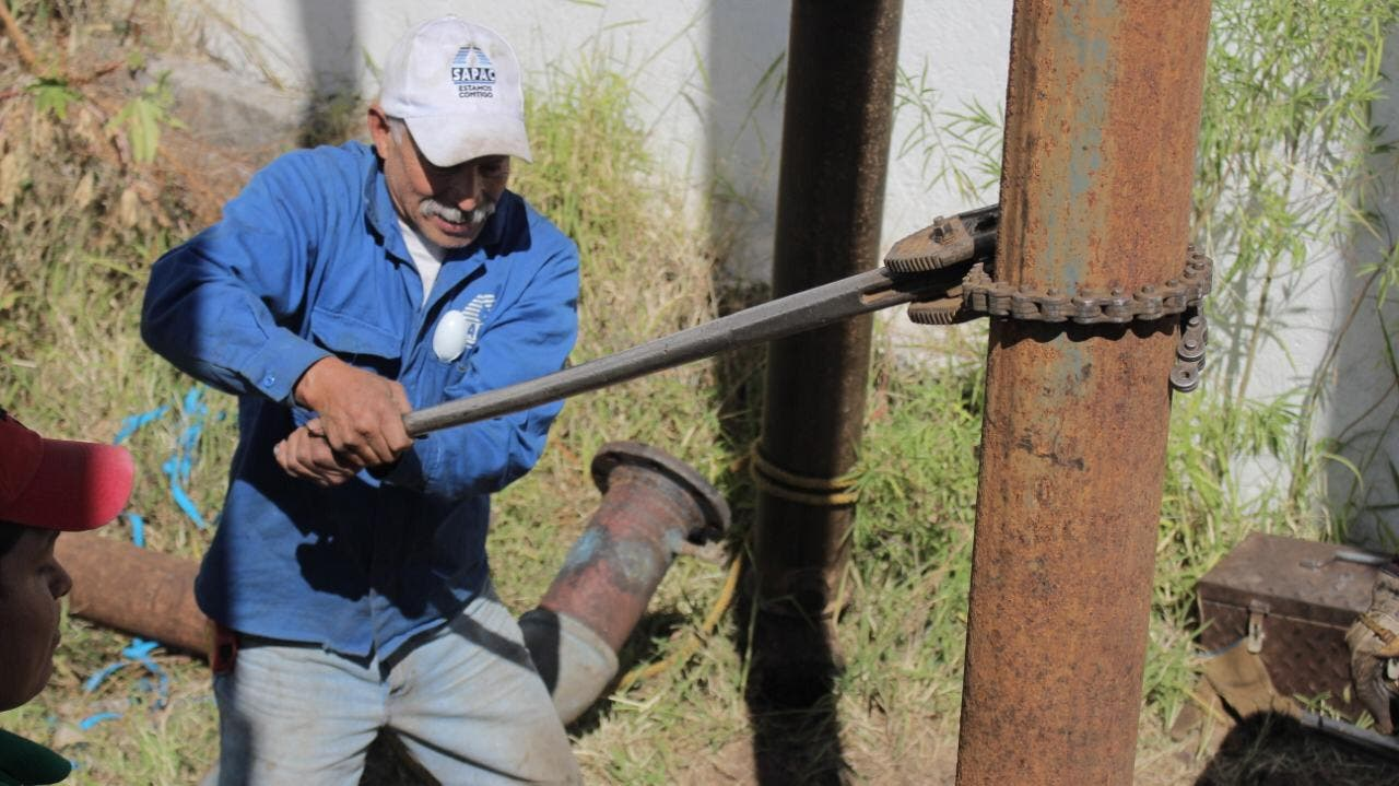 Trabaja SAPAC para garantizar abastecimiento de agua durante la contingencia sanitaria