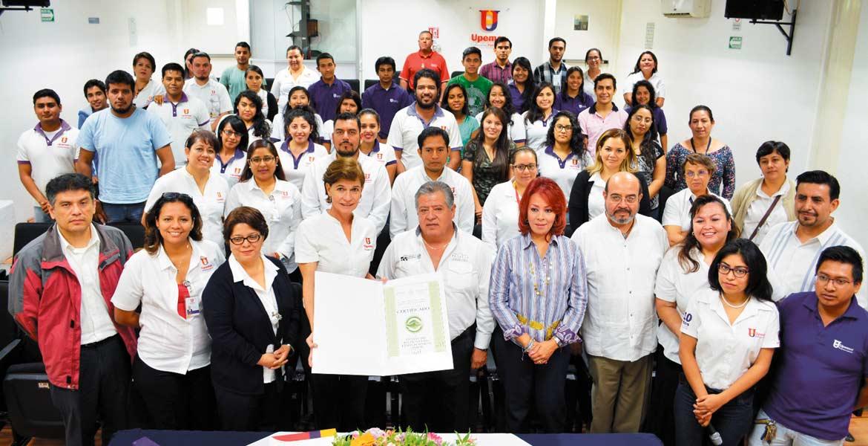 Cumplimiento. El reconocimiento fue gracias al compromiso de la Universidad con la preservación del ambiente.