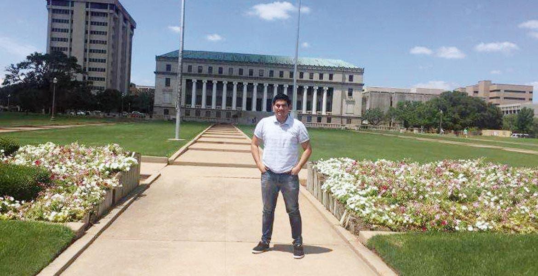 Logro. Alejandro Fabián López Bucio estudia ingeniería informática en la Upemor y actualmente está en la Universidad de Texas A&M.