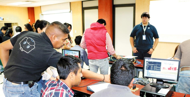 Capacitación. Hay diversos cursos para los estudiantes.
