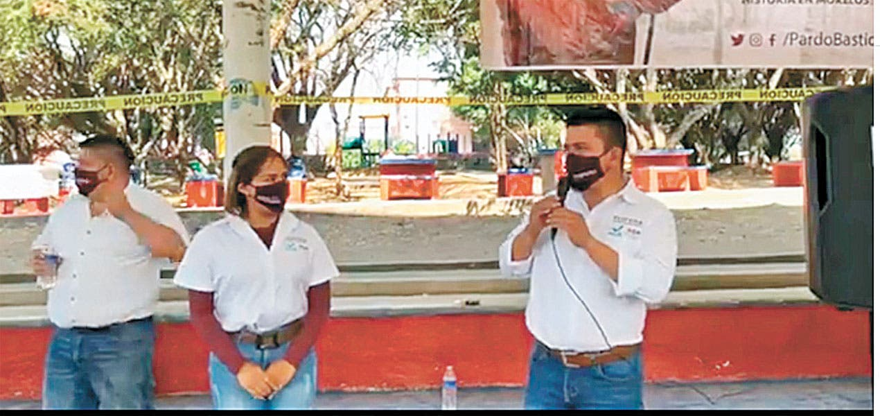 Busca Ulises Pardo Bastida diputación por el III Distrito de Cuernavaca