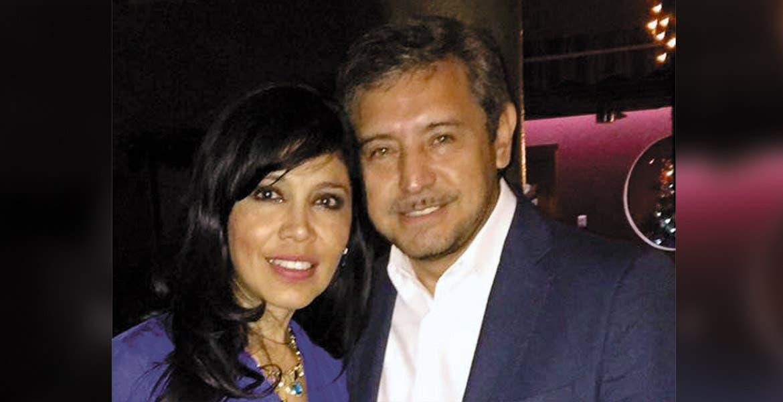 El licenciado José Luis Uróstegui y su gentil esposa, Luz María Zagal.
