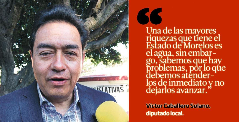 Víctor Caballero Solano, diputado local