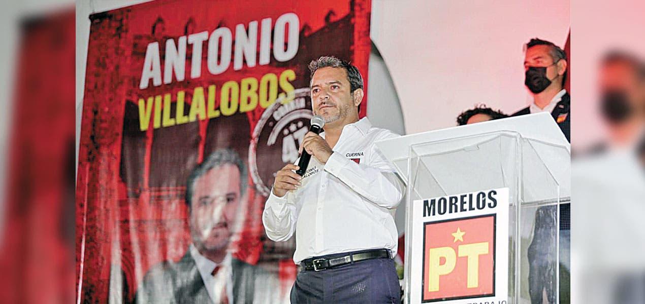 Antonio Villalobos sale a la campaña para ser reelecto en Cuernavaca