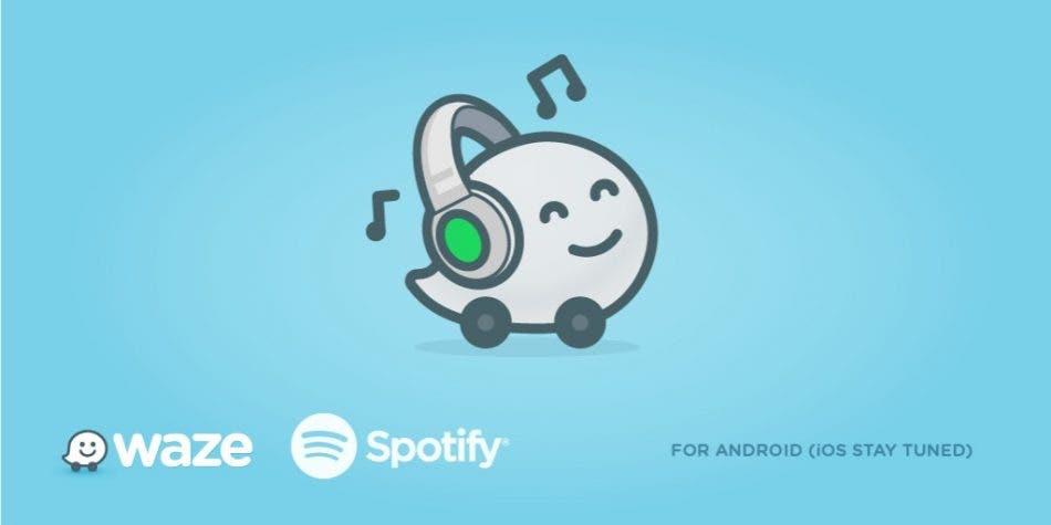Waze y Spotify se integran para musicalizar tus trayectos en iOS