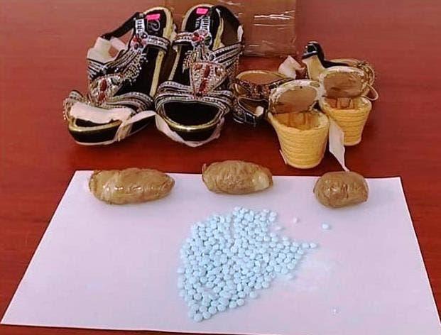 Guardia Nacional detecta fentanilo oculto en sandalias que serían enviadas a Estados Unidos