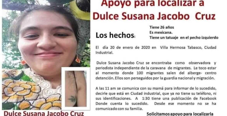 Joven de Morelos, detenida en estación migratoria de Tabasco; se hizo pasar por hondureña