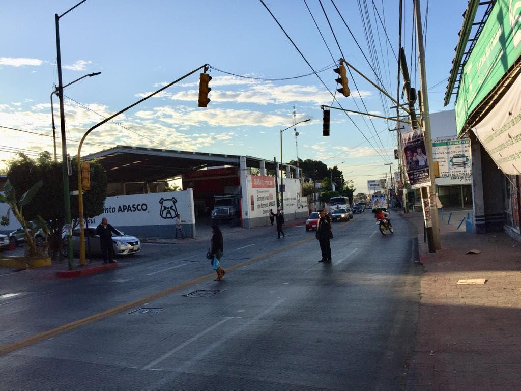 Autoridades determinan que implementacióndel semáforo en la av. Morelos Sur, no es necesaria