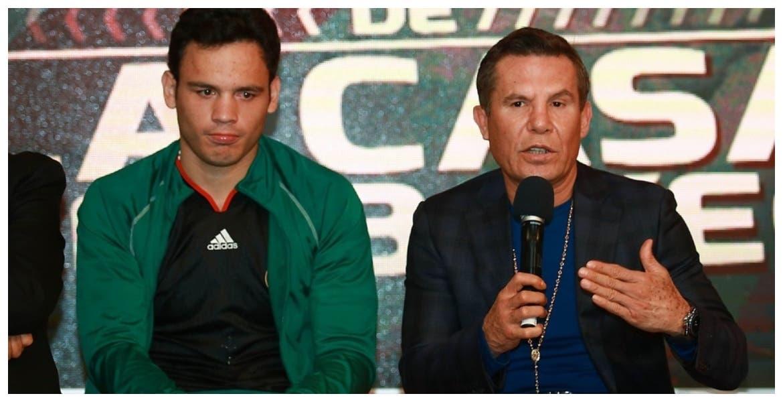 """""""Este su va a ser el bueno"""": Julio César Chávez olvida a sus hijos y pone sus esperanzas en su nieto"""