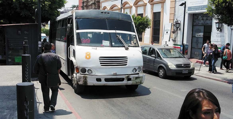 Exhorto. Concesionarios y operadores del transporte público deben dar buen tratao a personas con discapacidad.