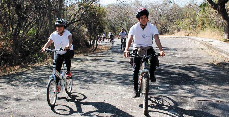 Gran oportunidad. Desde este fin de semana las familias pueden acudir a la ciclovía de El Texcal para pasar un rato de sano entretenimiento en la reserva natural.