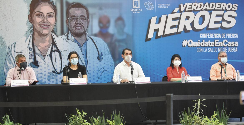 En Morelos, casi la mitad de casos de COVID se ha recuperado: SS