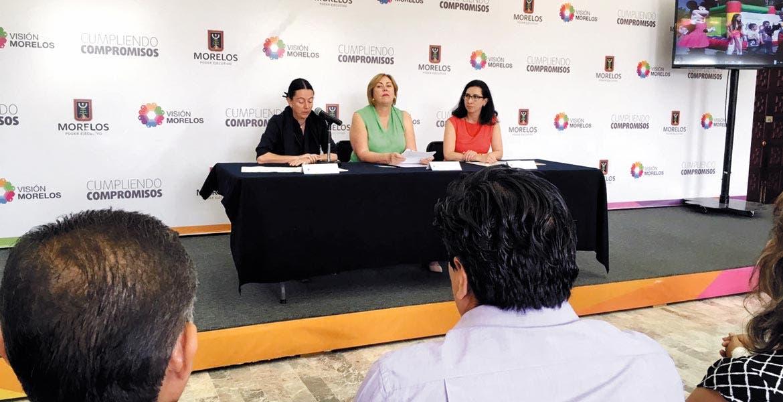Anuncio. La presidenta del DIF estatal, Elena Cepeda, dio a conocer las actividades que se desarrollarán el próximo sábado en la Ecozona.