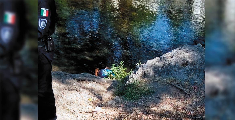 Deceso. César Ramón murió ahogado en un ojito de agua potable de la colonia Paraíso, de Cuautla, presuntamente tras sufrir un ataque epiléptico y caer al agua.