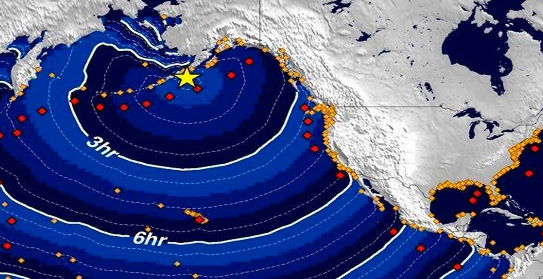 Sufre Alaska terremoto de 7,4; alerta de tsunami se degrada a sólo advertencia