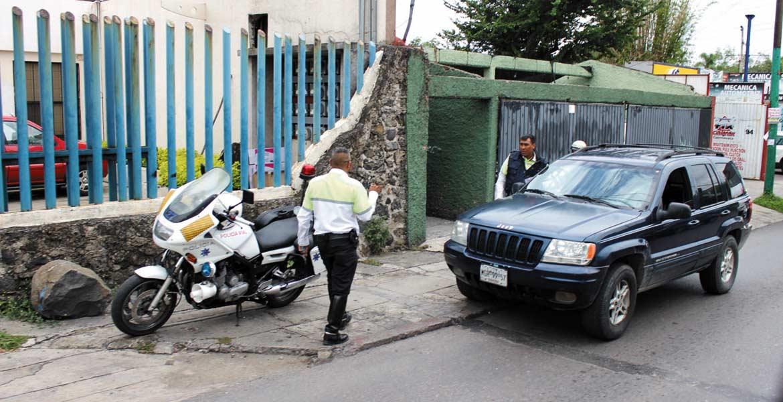 Son 118 policías viales y 200 del Mando Único cuidan seguridad en estos días en la capital.