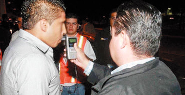 Sanciones. En Jiutepec, por ejemplo, la multa al conductor que sea detectado con exceso de alcohol es 4 mil 382 pesos.
