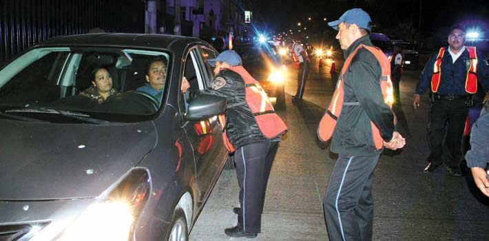 Meses. En la primera semana de enero se reactivó el programa, y en esas fechas, 13 vehículos fueron enviados al corralón y tres personas fueron detenidas.