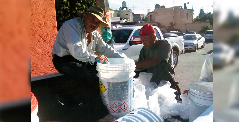 Examinan. Trece muestras de agua potable tomadas por la Ceagua dieron positivas a contaminación fecal.