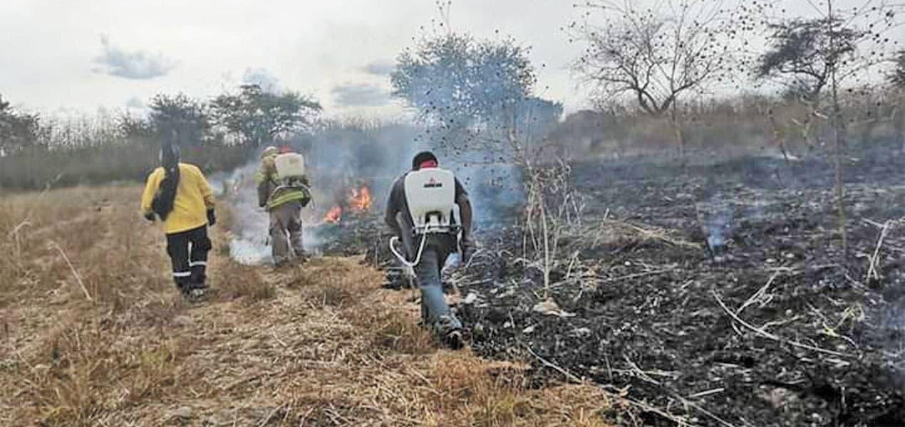 Alerta fuego a bomberos de Jojutla