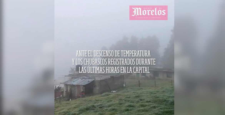 Alerta por frío intenso en la capital