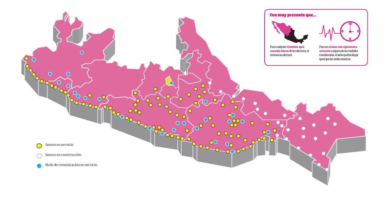 Colocan sistema de alerta sísmica en Nezahualcóyotl