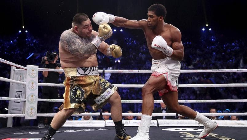 Andy Ruiz pierde la revancha vs Anthony Joshua