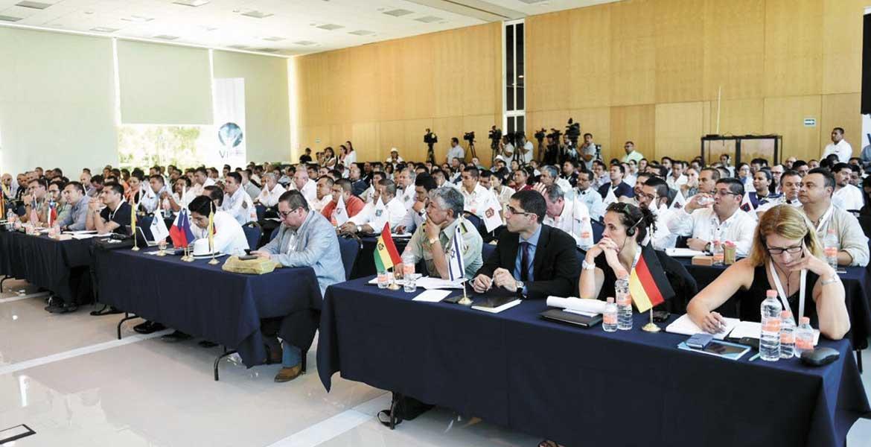 Evento. Franck da Vitoria elogió el trabajo realizado por la Unidad Especial de Combate contra el Secuestro y la Extorsión de Morelos.