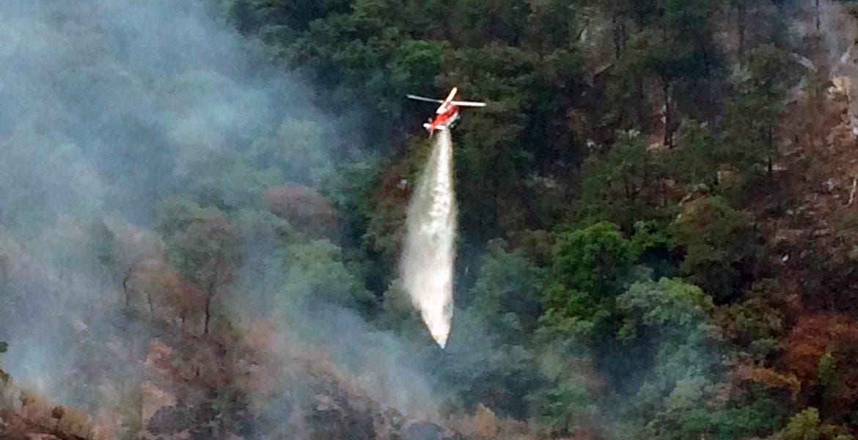 Está controlado. Más del 60 por ciento del incendio forestal ya fue controlado y esperan liquidarlo en este fin de semana.