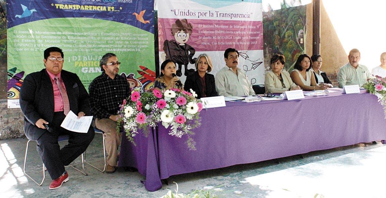 Ejemplo. Mireya Arteaga Dirzo, comisionada del IMIPE, aseguró que la publicación del catálogo de obras es un salto muy grande para la entidad en materia de transparencia