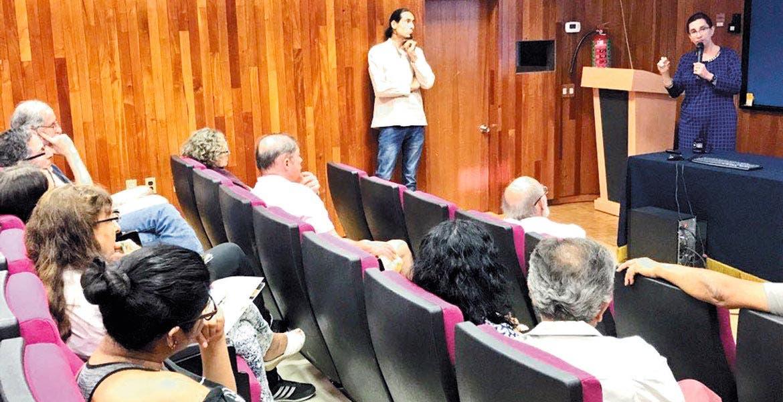 Importancia. Brenda Valderrama Blanco, titular de la SICyT, aseguró que se busca crear un ecosistema de innovación en la entidad