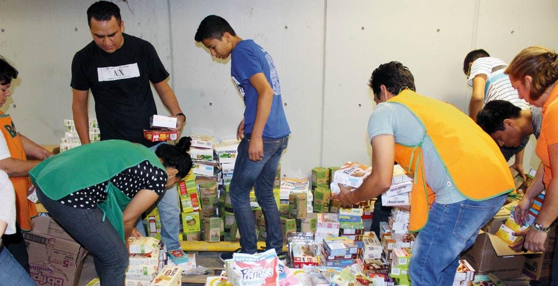 Para los más vulnerables. Serán más de cinco mil personas de Cuernavaca las beneficiadas con la donación de alimentos y artículos de primera necesidad.
