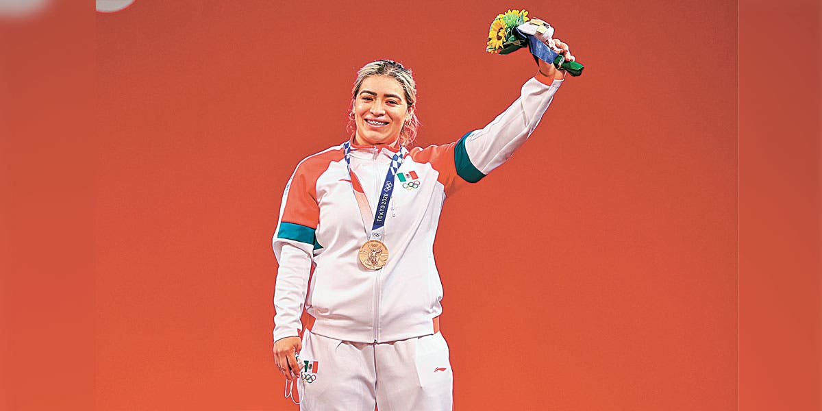El sueño de niña: Aremi Fuentes da a México tercer bronce