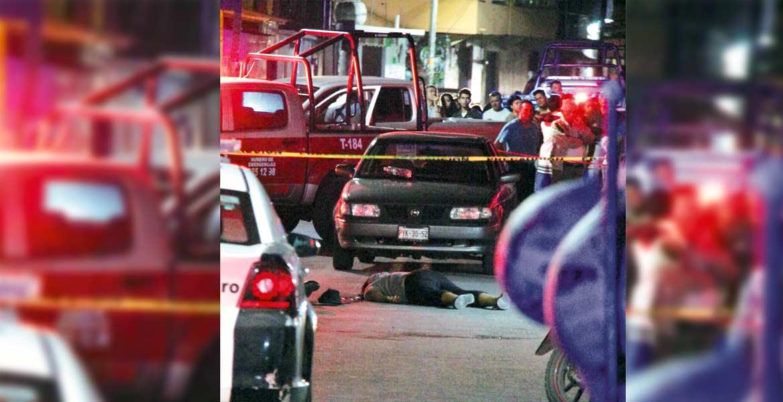 Deceso. Samuel murió al ser impactado y proyectado por una camioneta, cuando viajaba en su moto.