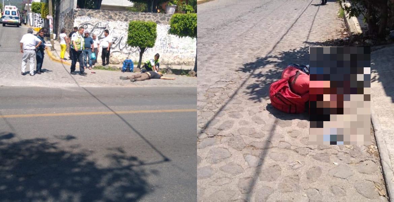 Asesinan a balazos a 2 sujetos en Ocotepec